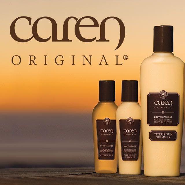 Caren Products Website Design