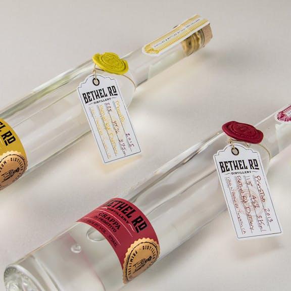 Bethel Rd. - Grappa Wine Label Design