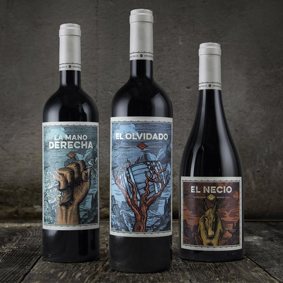 Bodega Calle Wine Label Design