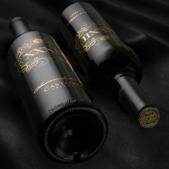 Castoro Cellars - Trenta Series Wine Label Design