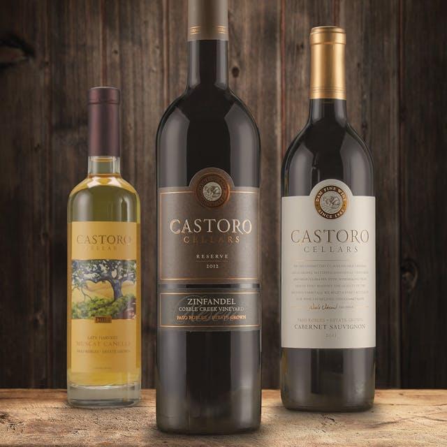 Castoro Cellars Wine Label Design
