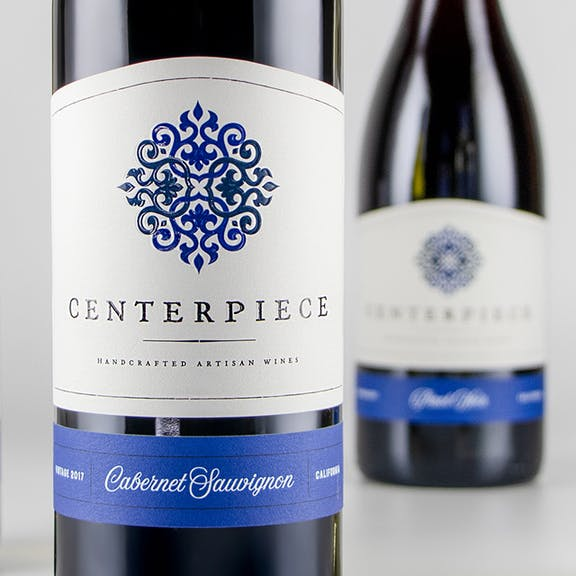 Centerpiece Wine Label Design