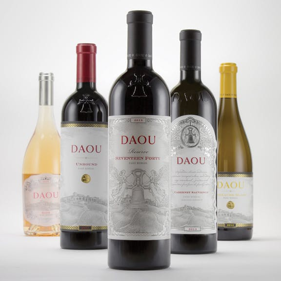 Daou Wine Label Design