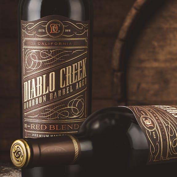 Diablo Creek Wine Label Design