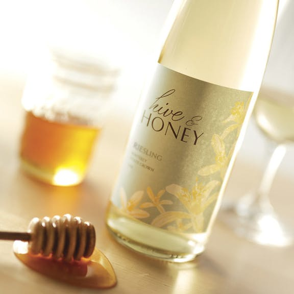 Hive & Honey Wine Label Design