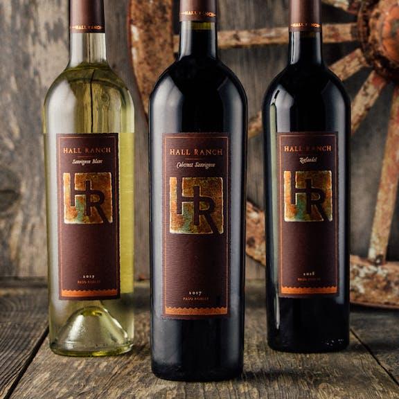 Hall Ranch Wine Label Design
