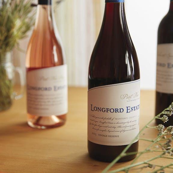 Longford Estate Wine Label Design