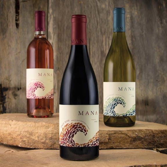 Mana Wine Label Design