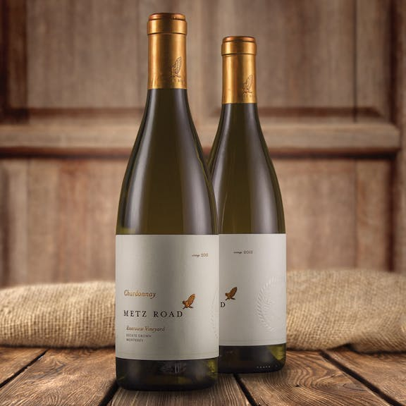 Metz Road Wine Label Design