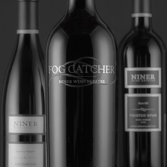 Niner Wine Estates Wine Label Design