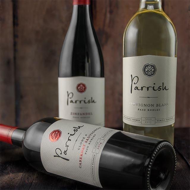 Parrish Wine Label Design