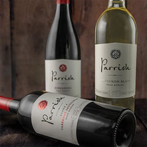 Parrish Wine Label Design