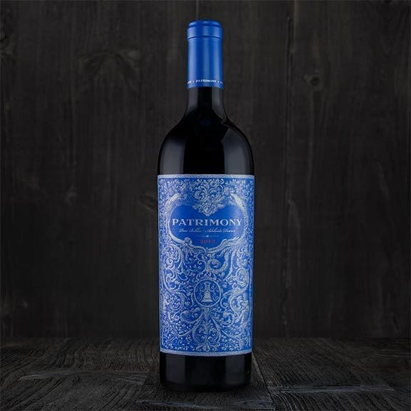 Patrimony Wine Label Design