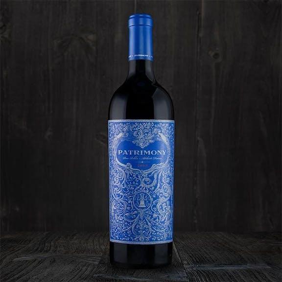 Patrimony Wine Label Design