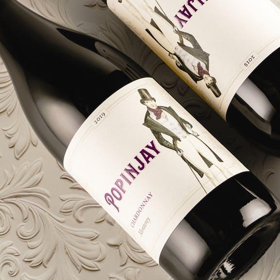 Popinjay Wine Label Design