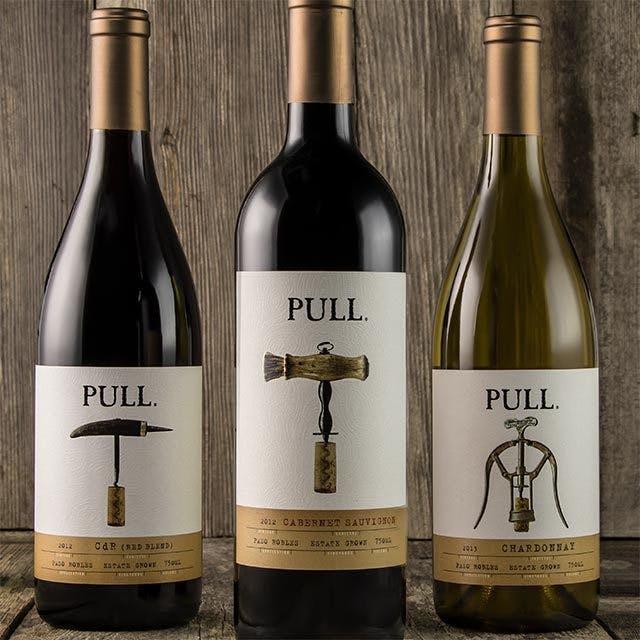 Pull Wine Label Design