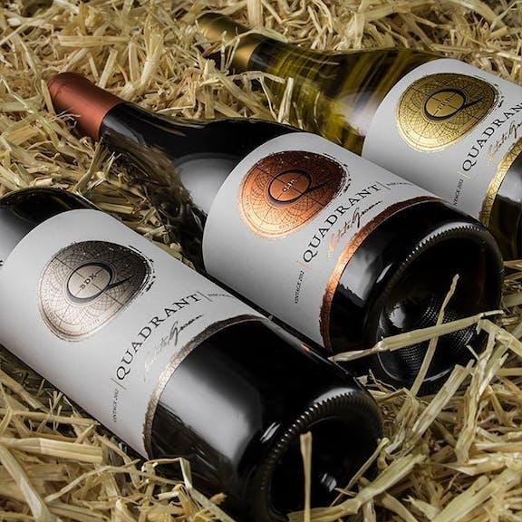 Quadrant Wine Label Design