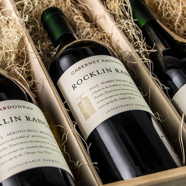 Rocklin Ranch Wine Label Design