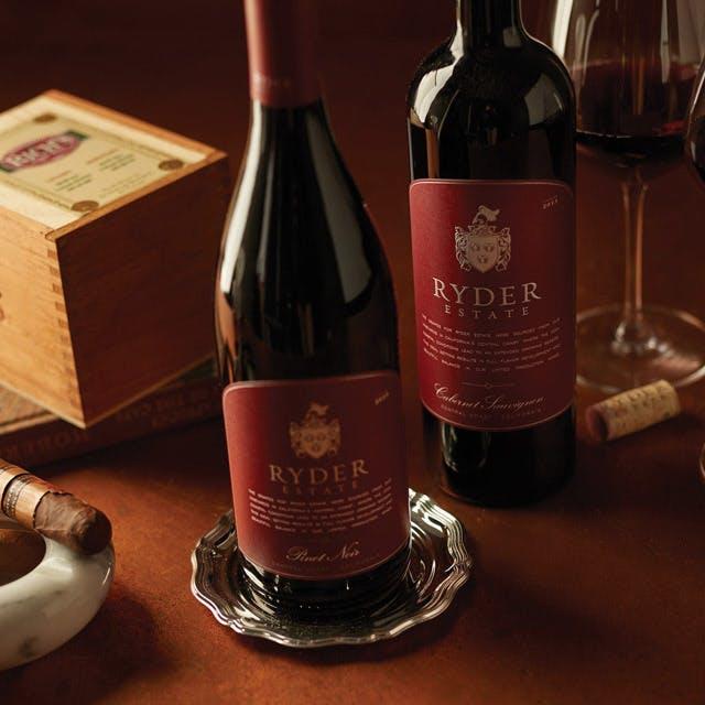 Ryder Estate Wine Label Design