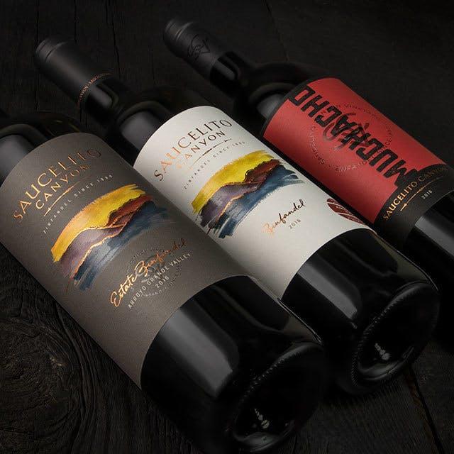 Saucelito Canyon Wine Label Design