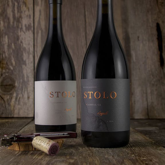 Stolo Wine Label Design