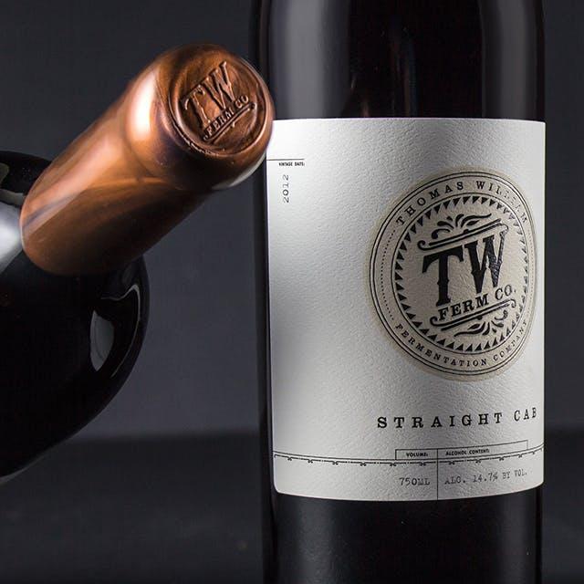 TW Ferm Co. Wine Label Design