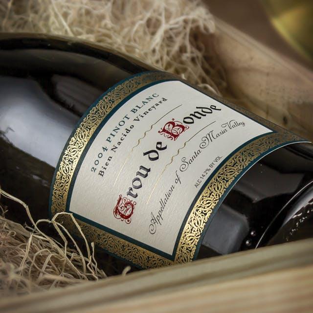 Trou de Bonde Wine Label Design