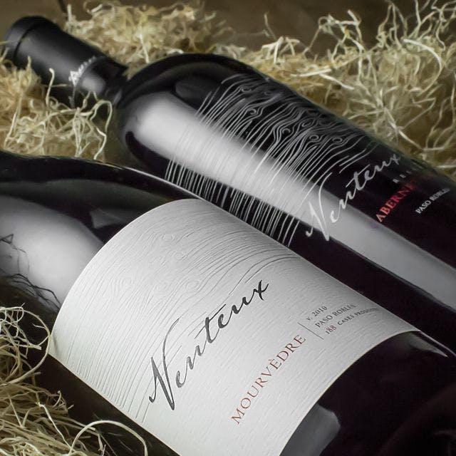 Venteux Wine Label Design