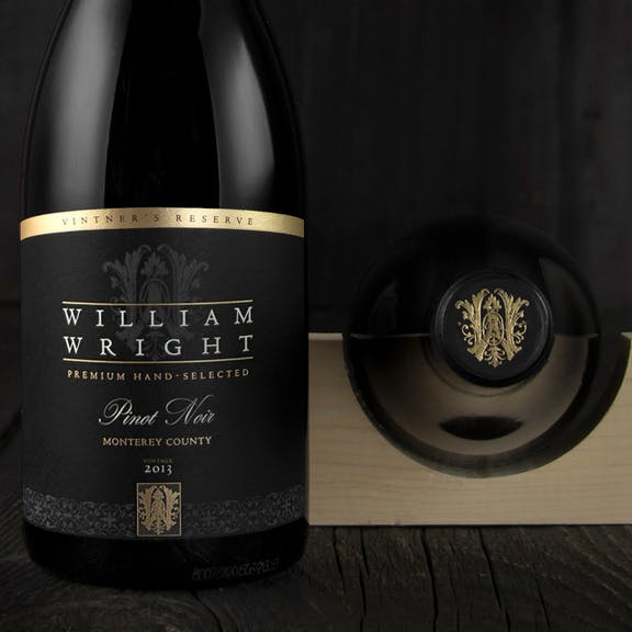 William Wright Wine Label Design