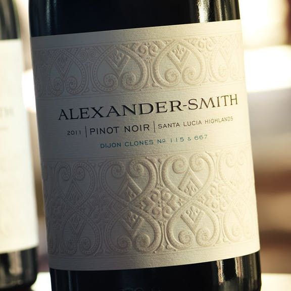 Alexander Smith Wine Label Design