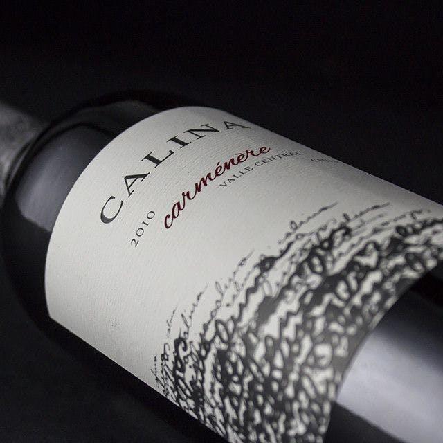 Calina Wine Label Design