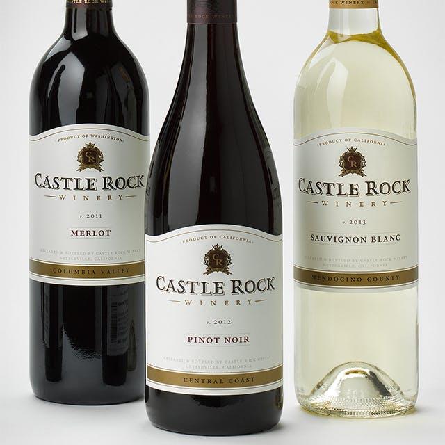 Castle Rock Wine Label Design