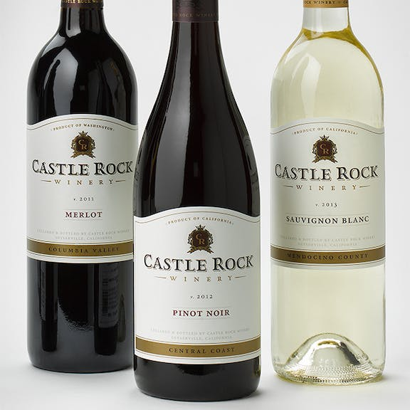 Castle Rock Wine Label Design