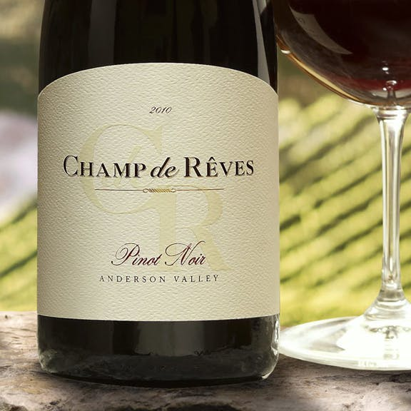 Champ de Reves Wine Label Design