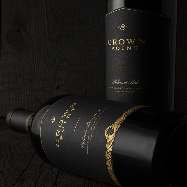 Crown Point Wine Label Design