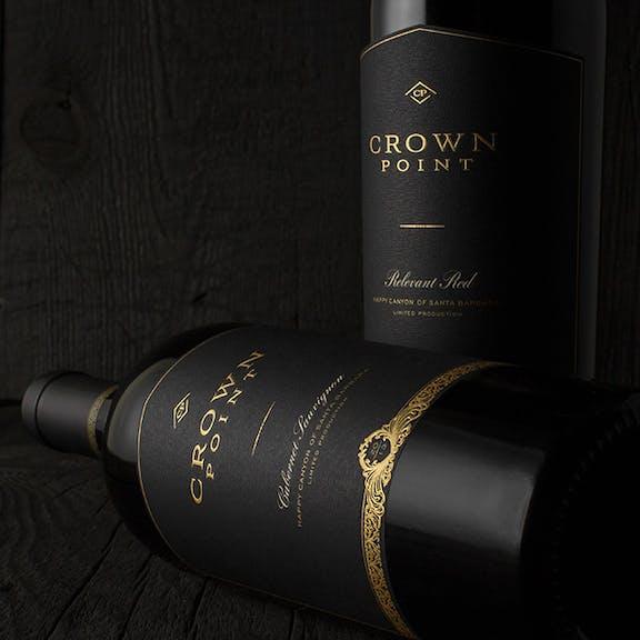 Crown Point Wine Label Design
