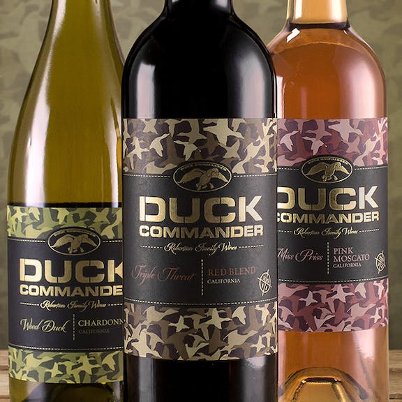 Duck Commander Wine Label Design