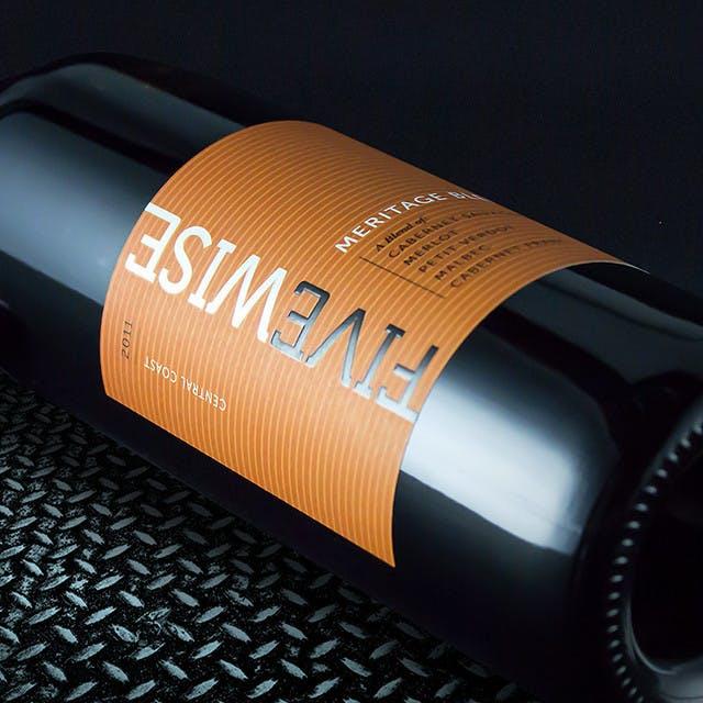 Five Wise Wine Label Design