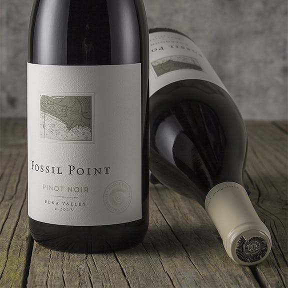 Fossil Point Wine Label Design