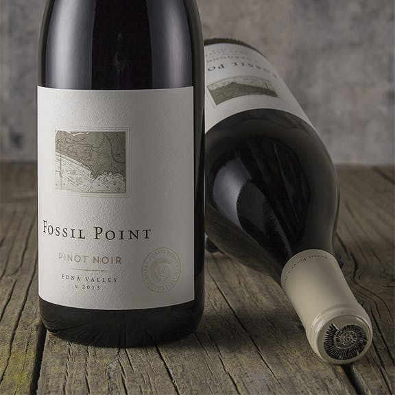 Fossil Point Wine Label Design