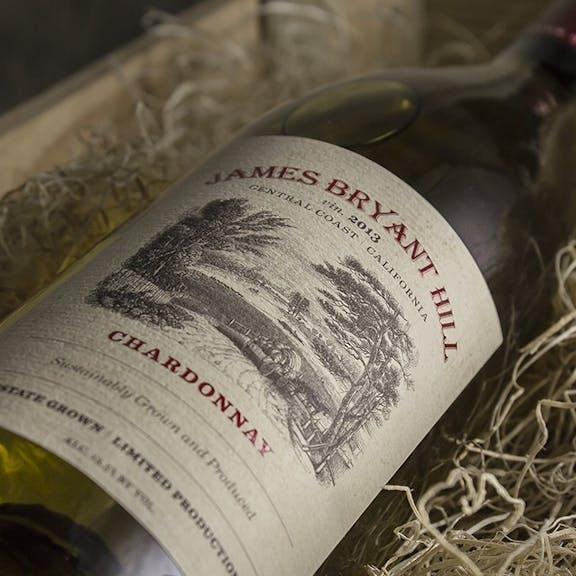 James Bryant Hill Wine Label Design
