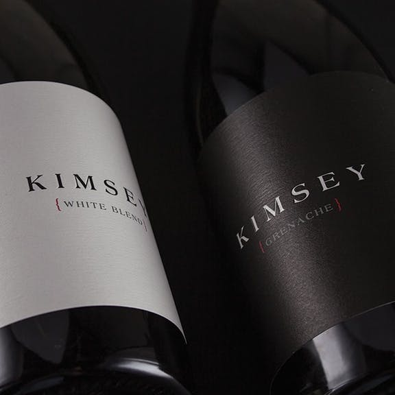 Kimsey Wine Label Design