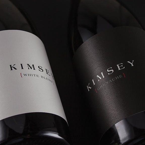 Kimsey Wine Label Design