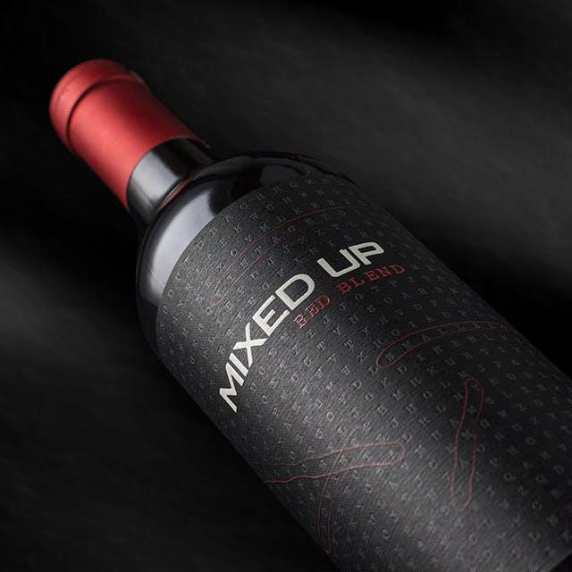 Mixed Up Wine Label Design