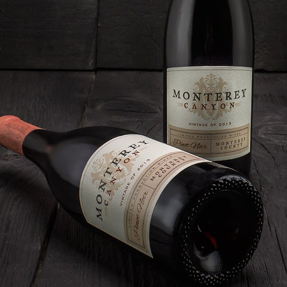 Monterey Canyon Wine Label Design