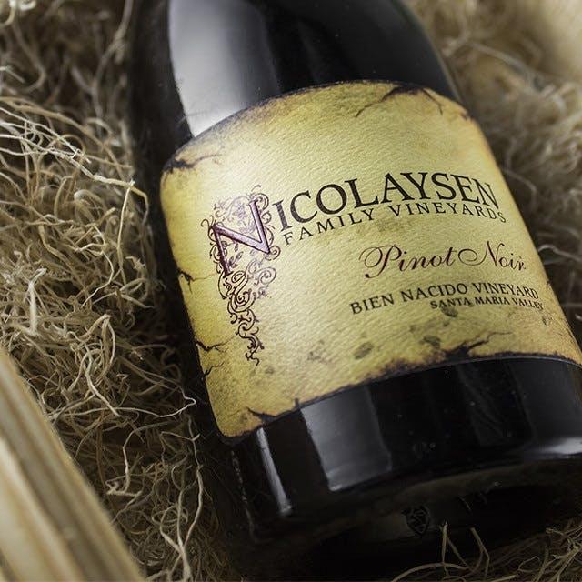 Nicolayson Wine Label Design