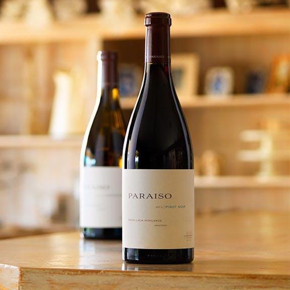 Paraiso Wine Label Design