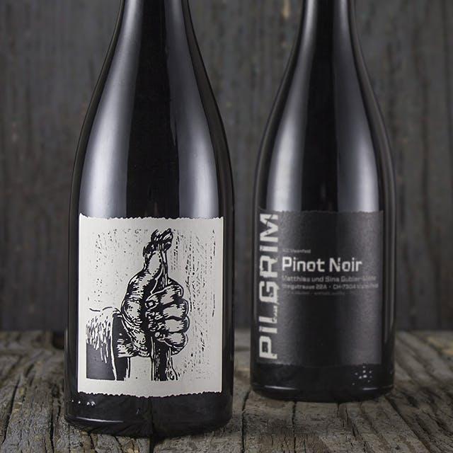 Pilgrim Wine Label Design