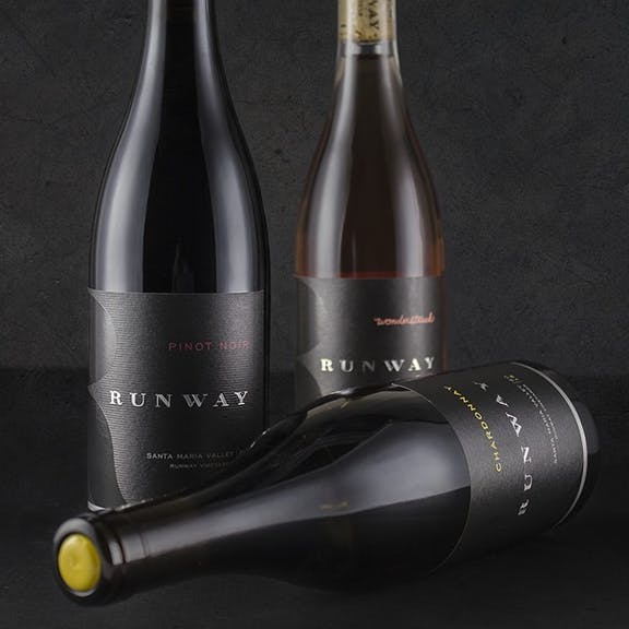 Runway Wine Label Design