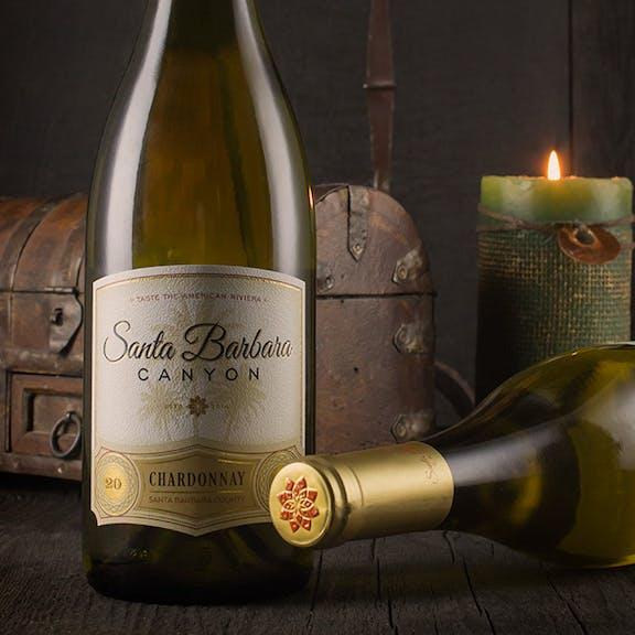 Santa Barbara Canyon Wine Label Design